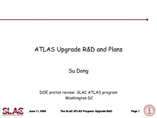 ATLAS Upgrade R&D and Plans