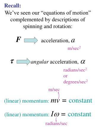 acceleration,  a