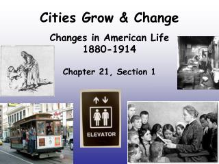 Cities Grow & Change