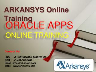 ORACLE APPS  ONLINE TRAINING | ORACLE APPS Project Support |