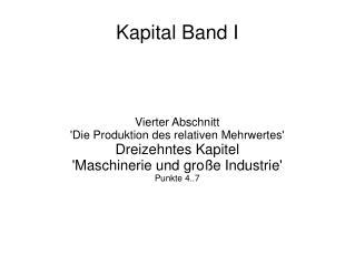 Kapital Band I
