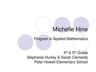 Michelle Hine