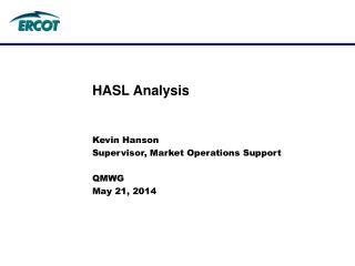HASL Analysis