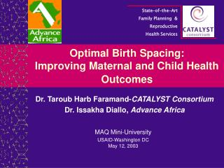 Optimal Birth Spacing: Improving Maternal and Child Health Outcomes