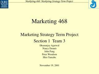 Marketing 468