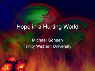 Hope in a Hurting World