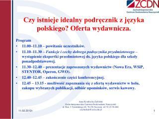 Czy istnieje idealny podręcznik z języka polskiego? Oferta wydawnicza.