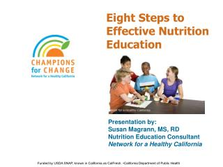 Eight Steps to Effective Nutrition Education