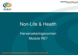 Non-Life & Health