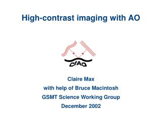 High-contrast imaging with AO