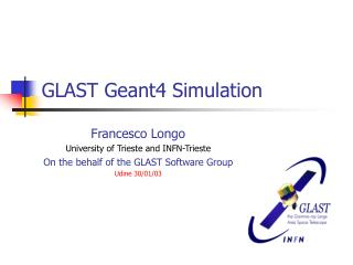 GLAST Geant4 Simulation