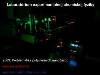 Laboratórium experimentálnej chemickej fyziky