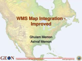 WMS Map Integration -Improved