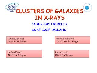 CLUSTERS OF GALAXIES IN X-RAYS