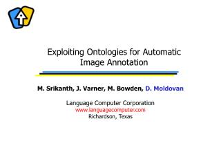 Exploiting Ontologies for Automatic Image Annotation