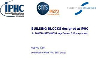 BUILDING BLOCKS  designed  at IPHC in TOWER JAZZ CMOS  I mage  Sensor  0.18 µm  process