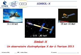 Simbol-X Un observatoire d'astrophysique X dur à l'horizon 2013