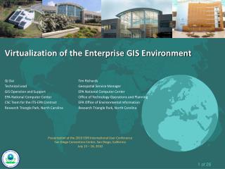 Virtualization of the Enterprise GIS Environment