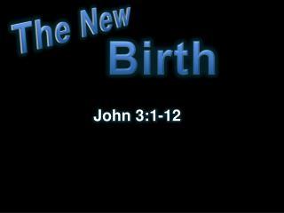John 3:1-12
