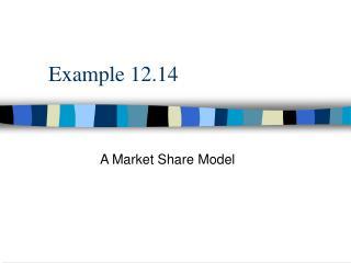 Example 12.14