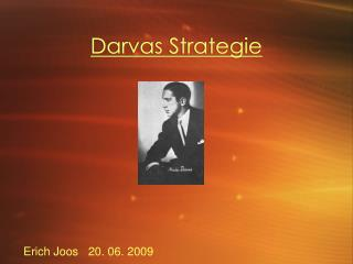 Darvas Strategie