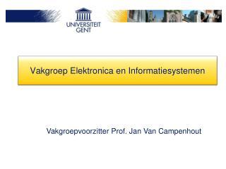 Vakgroep Elektronica en Informatiesystemen