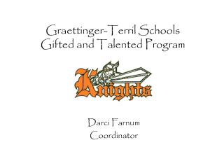 Graettinger-Terril Schools Gifted and Talented Program