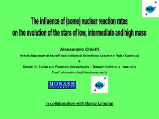 The influence of (some) nuclear reaction rates