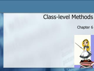 Class-level Methods