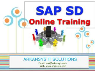 SAP SD ONLINE TRAINING | SAP SD Project Support | SAP SD Cer