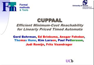 CUPPAAL Efficient Minimum-Cost Reachability for Linearly Priced Timed Automata