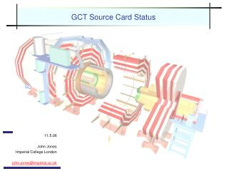 GCT Source Card Status