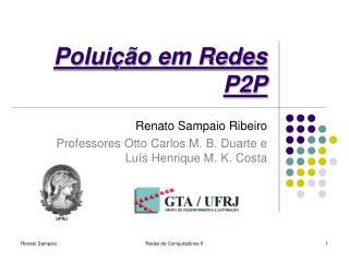Poluição em Redes P2P