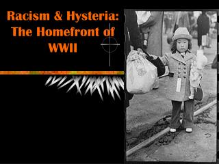 Racism & Hysteria: The Homefront of  WWII