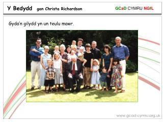 Y Bedydd   gan Christa Richardson