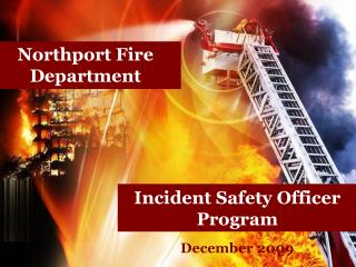 Incident Safety Officer Program