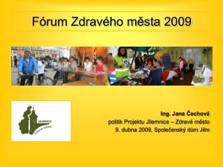 Fórum Zdravého města 2009