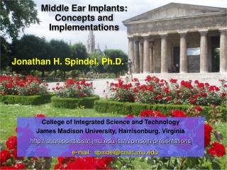 Middle Ear Implants: Concepts and Implementations