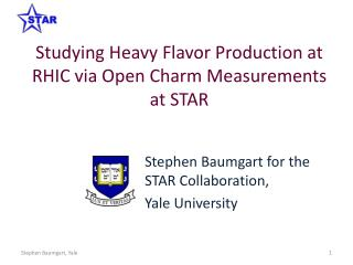Studying Heavy Flavor Production at RHIC via Open Charm Measurements  at STAR