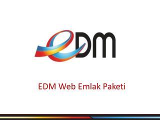 EDM Web Emlak Paketi