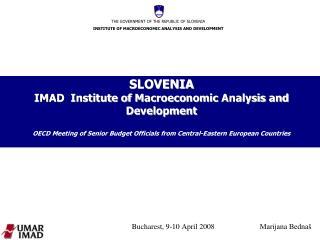 Bucharest, 9-10 April 2008        Marijana Bednaš