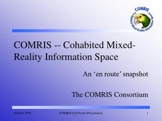 COMRIS -- Cohabited Mixed-Reality Information Space