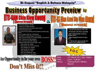 Business Opportunity Preview