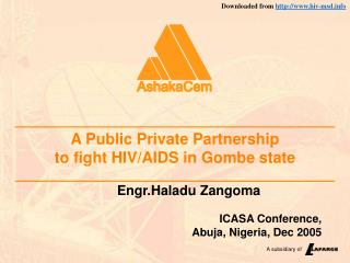 A Public Private Partnership  to fight HIV/AIDS in Gombe state