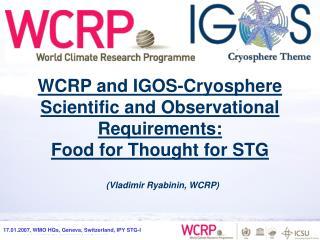 (Vladimir Ryabinin, WCRP)
