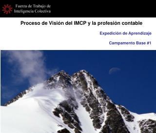 Proceso de Visión del IMCP y la profesión contable
