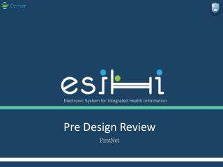 Pre Design Review  FirstNet