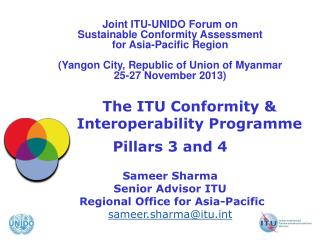 The ITU Conformity & Interoperability Programme