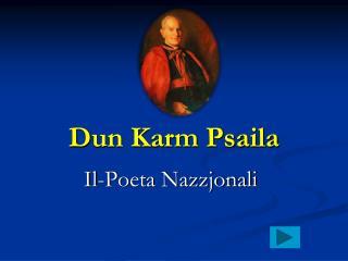 D un Karm Psaila