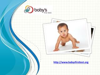 Newborn Screening | Infant Care | Health Care | Baby's First
